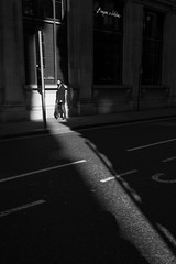 Cornhill (cybertect) Tags: carlzeissdistagont35mmf28mm cityoflondon cornhill ec3 london londonec3 sonya7ii blackwhite blackandwhite monochrome shadow