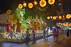 Chingay @ Chinatown (chooyutshing) Tags: decoratedfloat lightedup display thrumnathiruvizharoyalweddingprocession chingaychinatown eutongsenstreet chinesenewyear2019festival celebrations attractions peoplesassociation narpani singapore