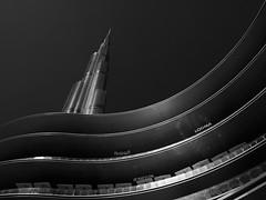 Burj Khalifa #2 (Thunderbird61) Tags: burjkhalifa dubaimall dubai uae vae monochrome mon blackwhite schwarzweiss noirblanc neroblanco nigeretalbus neroyblanco blackandwhite noiretblanc sw bw zwartwit zw nb na hotspot bnw architecture modernarchitecture modernurban citycityscape skyscraper tower building newbuilding modernbuilding pentax mediumformat pentaxart geometry geometric