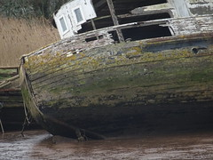Abandoned House Boat by River Exe (opposite Topsham) (guyfogwill) Tags: 2019 abandoned bateau bateaux boat boats cemetery cimetièredebateaux decaying devon england ex3 exeestuary exeter fogwill gbr guy guyfogwill houseboat hulks moored mud oldboat river riverexe rotting shipgraveyard shipwreck sunk toppeshamme topsham uk unitedkingdom vessel winter woodenboats wreck flicker photo interesting absorbing engrossing fascinating riveting gripping compelling compulsive sony dschx60
