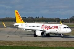 A320 (TC-DCH) Pegasus (boeing-boy) Tags: mikeling boeingboy stansted pegasus