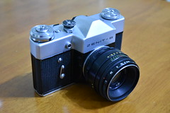 Zenit B camera (Matthew Paul Argall (Digital/Misc)) Tags: classiccamera camera zenitb sovietunion madeinussr slr old classic vintage