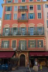 Facade, Hotel Cresp, Vieux Nice (Peter Cook UK) Tags: france hotel nice 2019 cresp facade south dazur cote vieux
