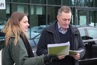 Demo Høyres landsmøte 2019