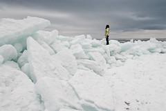 hansel_bryan_110313-15 (Cascadevacationrentals) Tags: ilena lakesuperior brightonbeach duluth ice icepiles minnesota personforscale winter mn usa