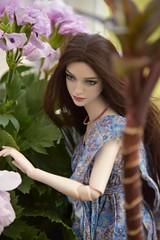 Another look for Rosie (stashraider) Tags: natalia loseva doll ball jointed resin megfashiondoll wig