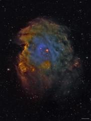 NGC2174 - The Monkey Head Nebula (Simon Addis) Tags: ngc2174 cosmos astronomy monkeyheadnebula space