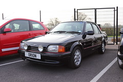 Ford Orion 1.6i Ghia F30EGF (Andrew 2.8i) Tags: haynes museum sparkford classic car cars classics breakfast meet show saloon sedan escort mark 2 ii mk mk2 1600 ghia 16 16i orion ford