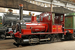 "5 ""Shannon"" (1857) (Roger Wasley) Tags: 5 shannon steam locomotive trains engine heritage preserved preservation didcot georgeenglandco uk nationalcollection wantage tramway co company history historic standard gauge"