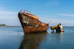 Roa Island - (2 of 2) (Ian Livesey) Tags: 20190406 roaisland ship barrow barrowinfurness cumbria