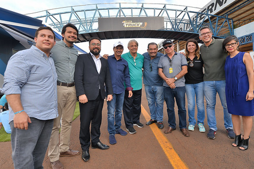 12/04/19 - Prefeito de Campo Grande, Marquinhos Trad visita a Copa Truck - Fotos: Duda Bairros