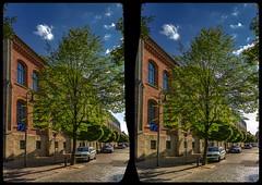 Halberstadt architecture 3-D / CrossView / Stereoscopy / HDRi (Stereotron) Tags: sachsenanhalt saxonyanhalt ostfalen harz mountains gebirge ostfalia hardt hart hercynia harzgau halberstadt quietearth deutschland germany europe cross eye view xview crosseye pair free sidebyside sbs kreuzblick bildpaar 3d photo image stereo spatial stereophoto stereophotography stereoscopic stereoscopy stereotron threedimensional stereoview stereophotomaker photography picture raumbild hyperstereo twin canon eos 550d remote control synchron kitlens 1855mm 100v10f tonemapping hdr hdri raw 3dframe fancyframe floatingwindow spatialframe stereowindow window