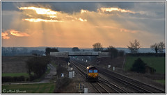 66221 going home in the evening sun Colton (Mark's Train pictures) Tags: 66221 dbcargo dbschenker dbcargouk dbs class66 class66shed coltonsouthjunction