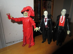 Mask of the Red Death Phantom Toasting 8197 (Brechtbug) Tags: mask red death phantom opera masque funko super7 reaction remco minimonsters figure from 1980 lon chaney sr eric paris monster dusty action universal monsters new york city 2018 france convict devil s island scary horror terror halloween fright toy toys creatures shadow ghoul teacher mentor victor hugo skull like shadows creepy sideshow 1980s nyc creature super 7 seven