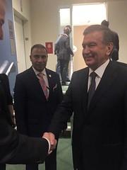 """Uzbekistan SHAVKAT MIRZIYOYEV, President of Uzbekistan (2) • <a style=""""font-size:0.8em;"""" href=""""http://www.flickr.com/photos/146657603@N04/45603195465/"""" target=""""_blank"""">View on Flickr</a>"""