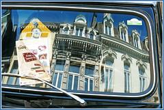 Aux Rétrofolies 2018 de Spa, Belgium (claude lina) Tags: claudelina belgium belgique belgië spa car voiture parebrise reflets reflections rétrofolies