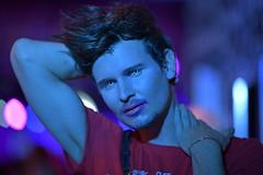 Drew Blood (Peter Jennings 32 Million+ views) Tags: hugo grrl the big gay christmas drag show auckland new zealand peter jennings nz dan veint drew blood