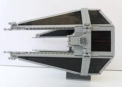 Lego Tie Interceptor (SEC - Jerac) (Rubblemaker) Tags: starwars star wars tie interceptor empire brickvault jerac lego toy toys building blocks