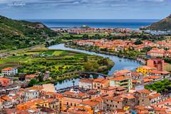 Bosa and Temo river (Gijs Rijsdijk) Tags: 2019gijsrijsdijk bosa cityscape italia italiëitaly sardegna sardinia sardinië temo azure azuur blauw blue color sea seascape seaside turqoise