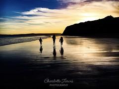 Memories (charlottejarvis@live.co.uk) Tags: coast england devonshire sunset ocean sea devon children kids beach