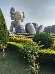 2019-01-24 14.52.44 (albyantoniazzi) Tags: taipei 台北市 taiwan 中華民國 asia roc china island travel city kaws art graffiti installation inflatable