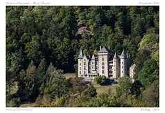 Murat [Cantal] (BerColly) Tags: france auvergne cantal murat anterroches chateau castle pierre stone arbres trees nature verdure bercolly google flickrbercolly flickr