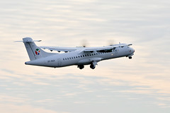 Goodbye (Rødovre Jedi) Tags: planespotting airplanes planecrazy flying pilotstuff aviation flygreen atr72