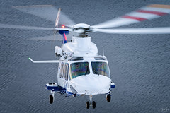 Atlantic Airways AW139 (lloydh.co.uk) Tags: aviation flying air airtoair aviationphotography aviationphotographer helicopter low nikon uk faroe islands faroeislands atlanticairways atlantic airways aw139 sar search rescue searchandrescue aw139sar aw139searchandrescue