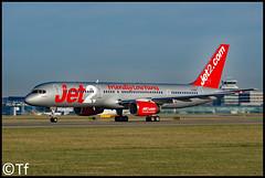 G-LSAA - Manchester Airport (Tf91) Tags: manchester manchesterairport egcc man boeing airliner jet jet2 glsaa boeing757 757200 b757