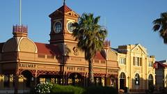 0414 ehem. Bahnhof - old station, Port Pirie (roving_spirits) Tags: australia australien australie southaustralia