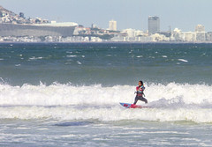 Kite Surfing (Arranion) Tags: surfing kite cape town beach water ocean canon holiday travel