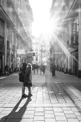 Streets of Vienna (_gate_) Tags: wien vienna austria österreich street photography x100f fujifilm fuji bw black white young love couple