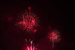 Trails of 2018 (emiel bleidd) Tags: firework fireworks trail night nightphoto red smoke contrast fuegosartificiales fotografianocturna sony sonya7ii a72 a7ii