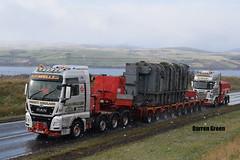 R.J. & I. WELLS LTD MAN TGX XXL 8x4 650 V8 WE11 SYD (Darren (Denzil) Green) Tags: stgocat we11syd modular trailer transport rjwellstransport man xxl tgx v8 650 blackislebrae transformermove dounraey transformer heavyhaulage wellstransport