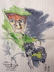 Philip pour JKPP (dege.guerin) Tags: portrait juliakaysportraitparty croquis jkpp sketch