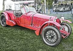 1938 Alfa Romeo 6C 2300 at Amelia Island 2009 (gswetsky) Tags: amelia island concours delegance alfa romeo 6c 2300 sports antique classic ccca european italian