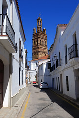 Torre de la Iglesia de la Granada (Rafa Gallegos) Tags: llerena badajoz extremadura españa spain iglesia igrexa igreja church iglesiadelagranada arquitectura architecture