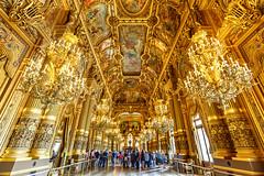 Paris Opéra grand foyer (stshank) Tags: france opera paris bracketed excursion gilt
