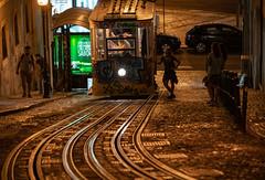 Flirty tram (Ni1050) Tags: girl mädchen frau femme woman dame tram legs portugal lisboa lissabon lisbon ascensordaglória sony ilce7rm2 ninis ninicrew fe a7rm2 a7rii a7r2 ni1050 urlaub holidays vacation hauptstadt capital 2018 sommer summer städtetour city trip fe24240mmf3563oss nacht night lights lichter standseilbahn strasenbahn aufzug gleise seil schienen rails rope carris people menschen trem noite lightroom lr