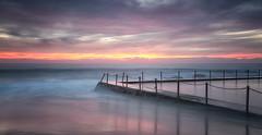 Last (tara.bowen) Tags: sunrise newport nsw australia beach longexposure canon clouds colour