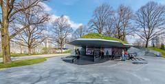Munich 1972 Massacre Memorial (Muenocchio) Tags: munich olympiapark spring frühling münchen memorial 1972