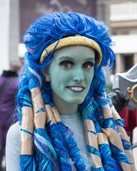 (jwcjr) Tags: 2016dragoncon atlantaga atlantageorgia dragoncon dragoncon2016 pentax people atlanta woman face portrait streetportrait costume makeup