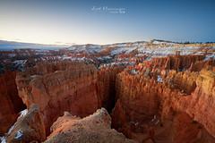 First snow at Bryce Canyon (jo.haeringer) Tags: brycecanyon nationalpark sunrise nisi fujifilm fuji canyon xt2 utah usa