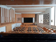 General Assembly Room (Egon Abresparr) Tags: architecture alvaraalto