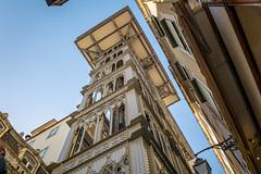 Santa Justa Lift, Lisbon, Portugal (Bela Lindtner) Tags: lisbon lisboaregion portugal pt lindtnerbéla belalindtner nikon d7100 nikond7100 nikkor 18105 nikkor18105 nikon18105 lisboa lisszabon portugália buildings architecture city outdoor outside