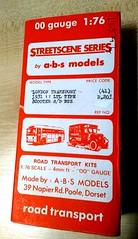 "ABS Street scene  London transport LT ""Scooter"" single deck bus kit. (Ledlon89) Tags: bus buses modelbus metalkit ltbus lt scooter londonbus"