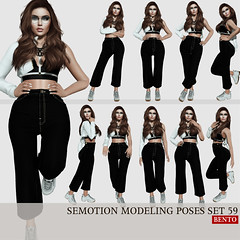 SEmotion Female Bento Modeling poses set 59 (Marie Sims) Tags: ao animations animation avatar anim animaitons animaions animated aohud animarions amused event 3d expression emotion expressions release rigged review trendy trend funny inworld girly pose poses posing photographer photosl photo ptoho hq semotion sl secondlife slfashion stands slavatar set fashion female fancy feelings fun girl hot hands sexy mocap modeling model mood woman vanity bento