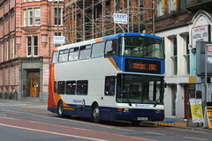 Stagecoach Manchester 16188 (S958 URJ) (SelmerOrSelnec) Tags: stagecoachmanchester volvo olympian northerncounties s958urj manchester newtonstreet bullock bus 192