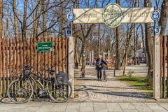 2019 Bike 180: Day 42, March 23 (suzanne~) Tags: 2019bike180 bike bicycle munich bavaria germany taxisgarten beergarden biergarten