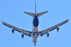 D-ABVM Lufthansa Boeing 747-400 (czerwonyr) Tags: